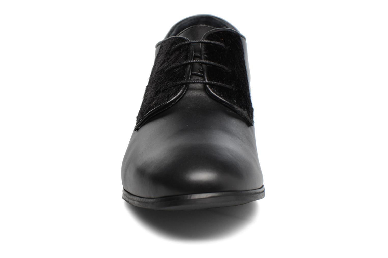 Schnürschuhe Georgia Rose Lapra schwarz schuhe getragen