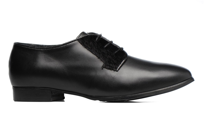 Zapatos con cordones Georgia Rose Lapra Negro vistra trasera