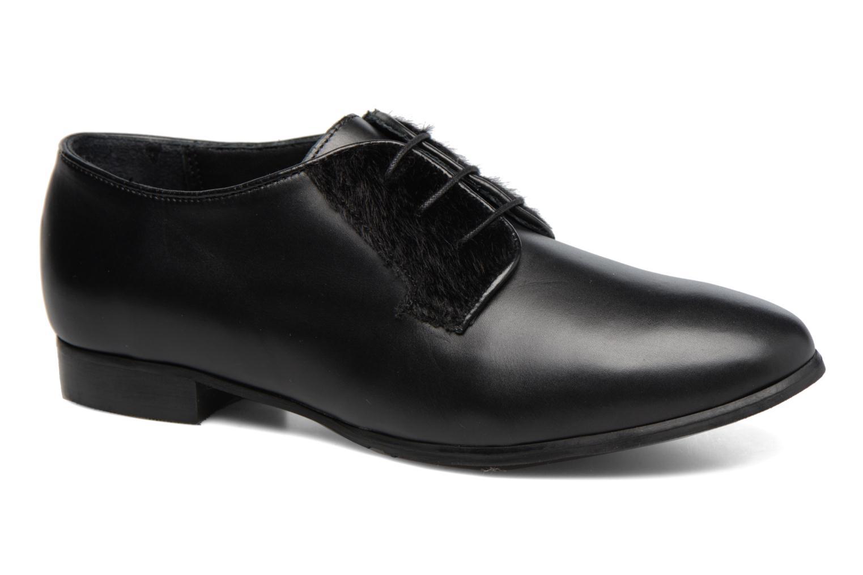 Chaussures à lacets Georgia Rose Lapra Noir vue détail/paire