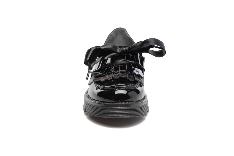 Slipper Melania SC. BASSA LACCI schwarz schuhe getragen