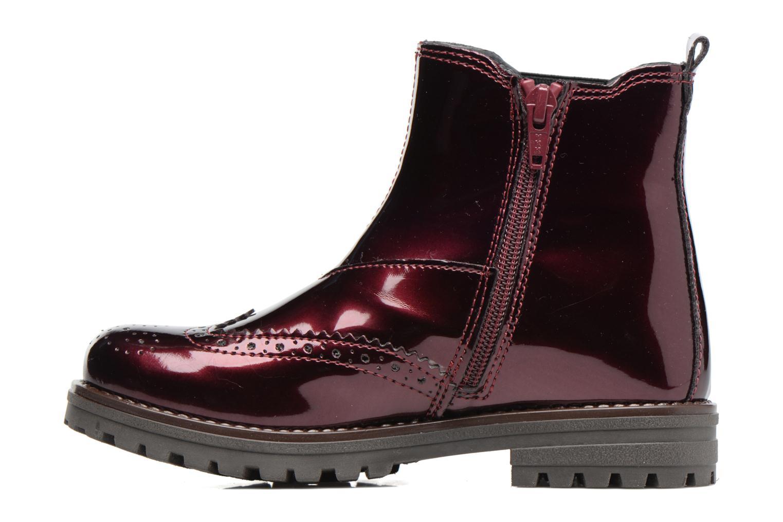 Bottines et boots Melania TRONCHETTO Bordeaux vue face