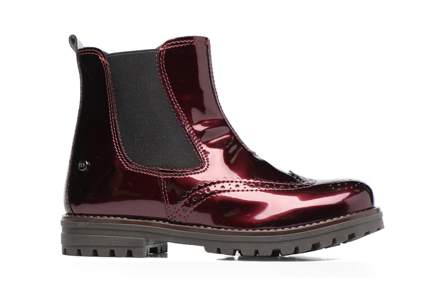 Ankle boots Melania TRONCHETTO Burgundy back view