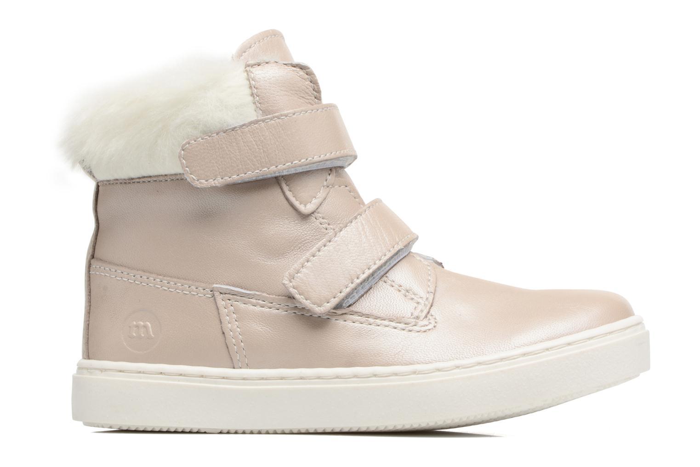 Sneaker Melania POLACCO VELCRI B silber ansicht von hinten