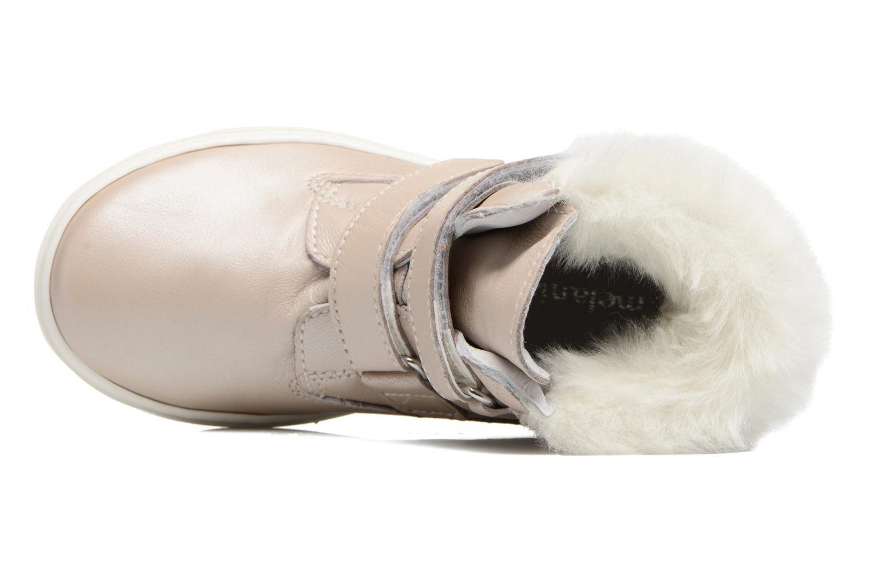 Sneaker Melania POLACCO VELCRI B silber ansicht von links