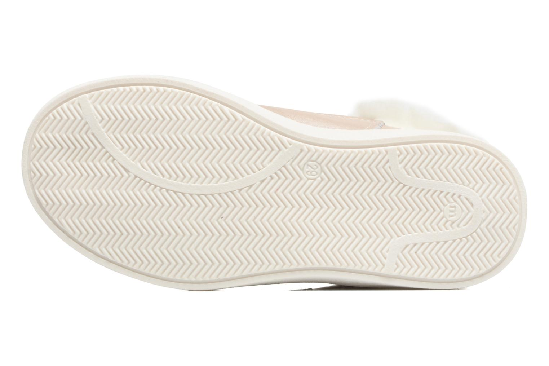 Sneaker Melania POLACCO VELCRI B silber ansicht von oben