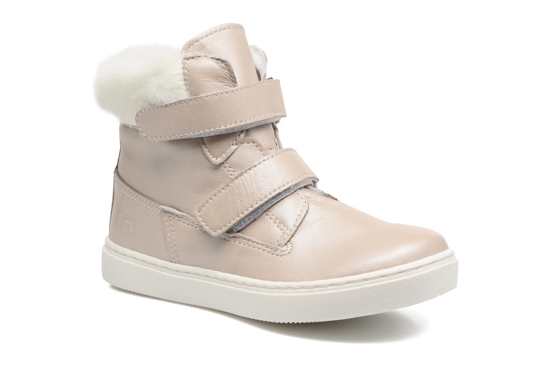 Sneakers Melania POLACCO VELCRI B Zilver detail