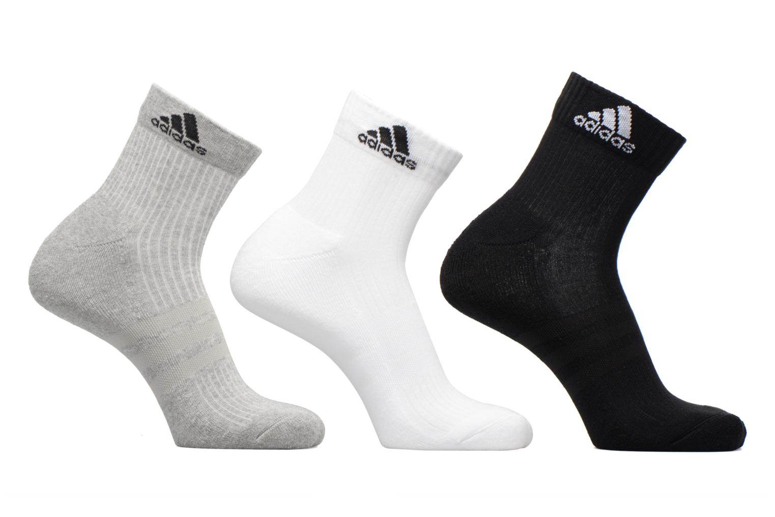 Socks & tights Adidas Performance 3S PER AN HC 3P Grey detailed view/ Pair view