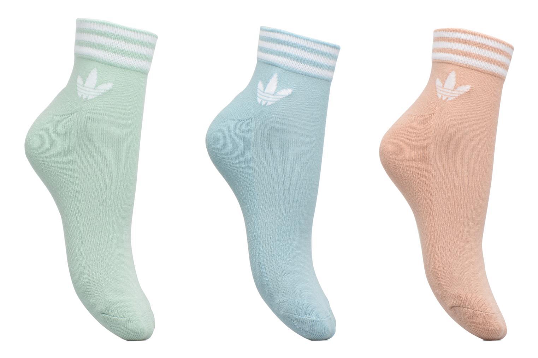 Sokken en panty's Adidas Performance TREFOIL ANK STR Grijs detail