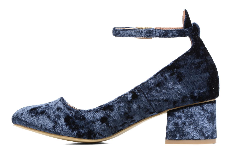 Bailarinas I Love Shoes CAMILLA Azul vista de frente