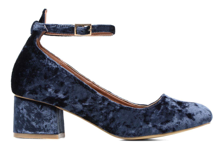 Bailarinas I Love Shoes CAMILLA Azul vistra trasera
