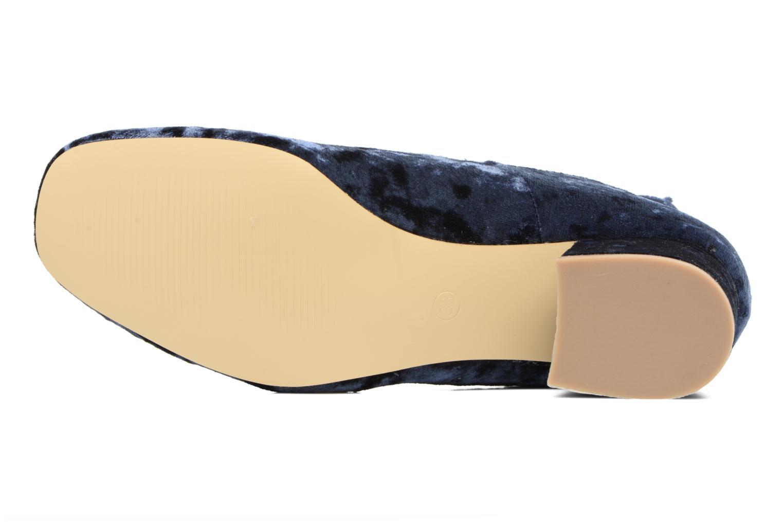 Ballerines I Love Shoes CAMILLA Bleu vue haut