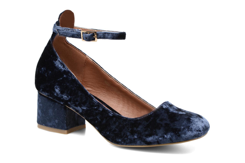 Ballerines I Love Shoes CAMILLA Bleu vue détail/paire