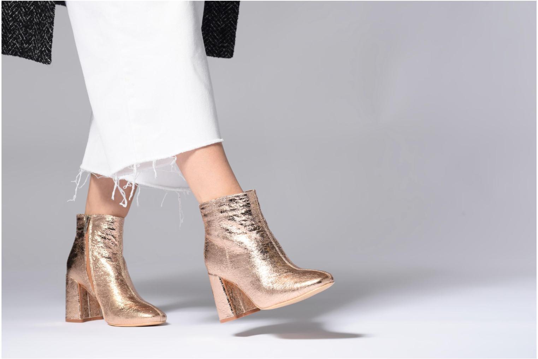 Stiefeletten & Boots I Love Shoes CORINA blau ansicht von unten / tasche getragen