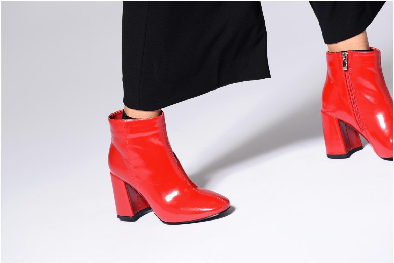 Bottines et boots I Love Shoes CORINA Or et bronze vue bas / vue portée sac