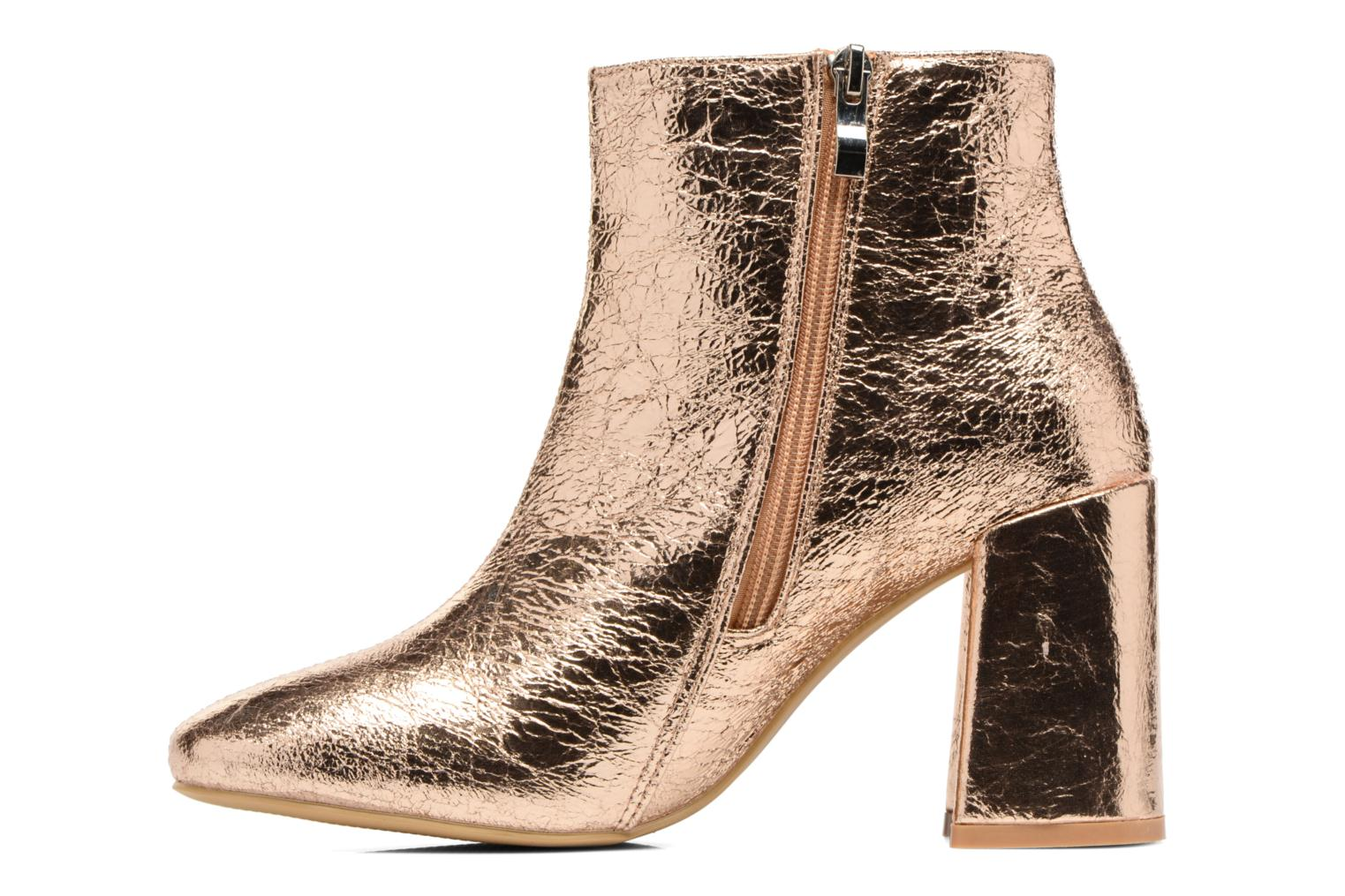 Ankle boots I Love Shoes CORINA Bronze and Gold front view