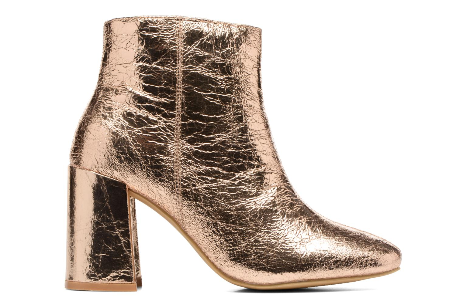 Ankle boots I Love Shoes CORINA Bronze and Gold back view