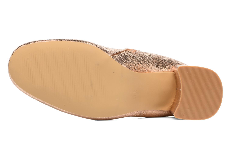 Botines  I Love Shoes CORINA Oro y bronce vista de arriba
