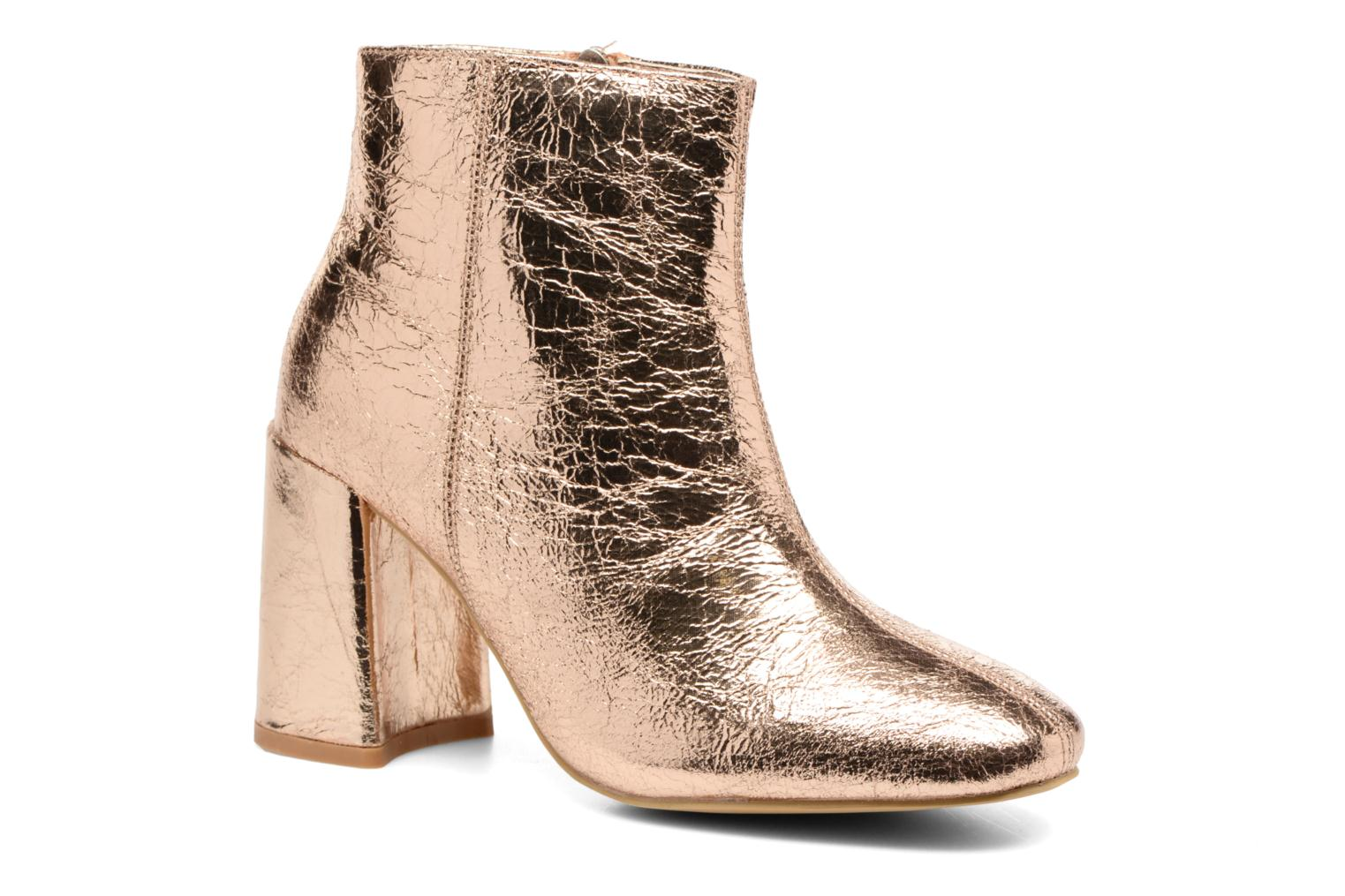 Ankle boots I Love Shoes CORINA Bronze and Gold detailed view/ Pair view