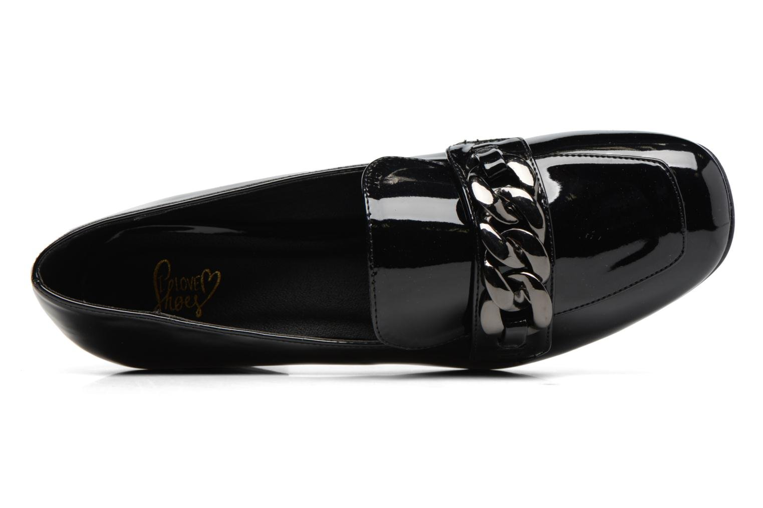Loafers I Love Shoes CELINA Black view from the left