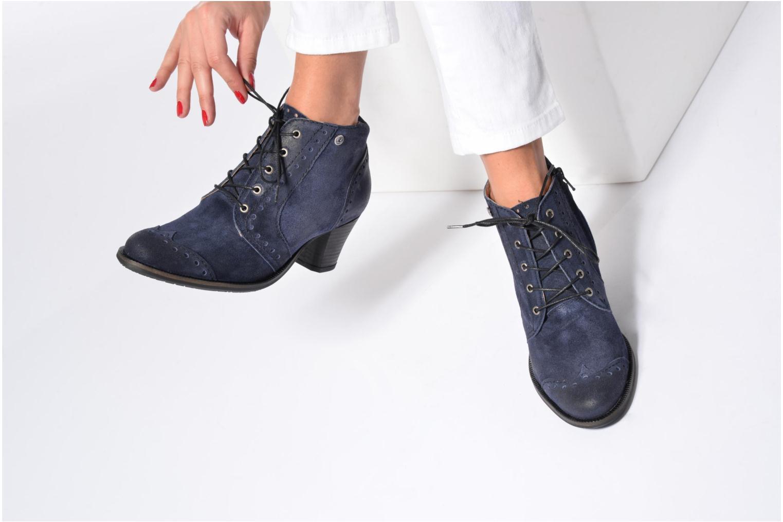 Bottines et boots Dkode Vera Bleu vue bas / vue portée sac