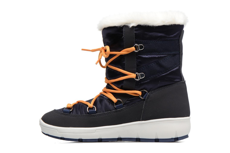 Sport shoes SARENZA POP MOWFLAKE Bottes de neige  Snow boots Blue front view