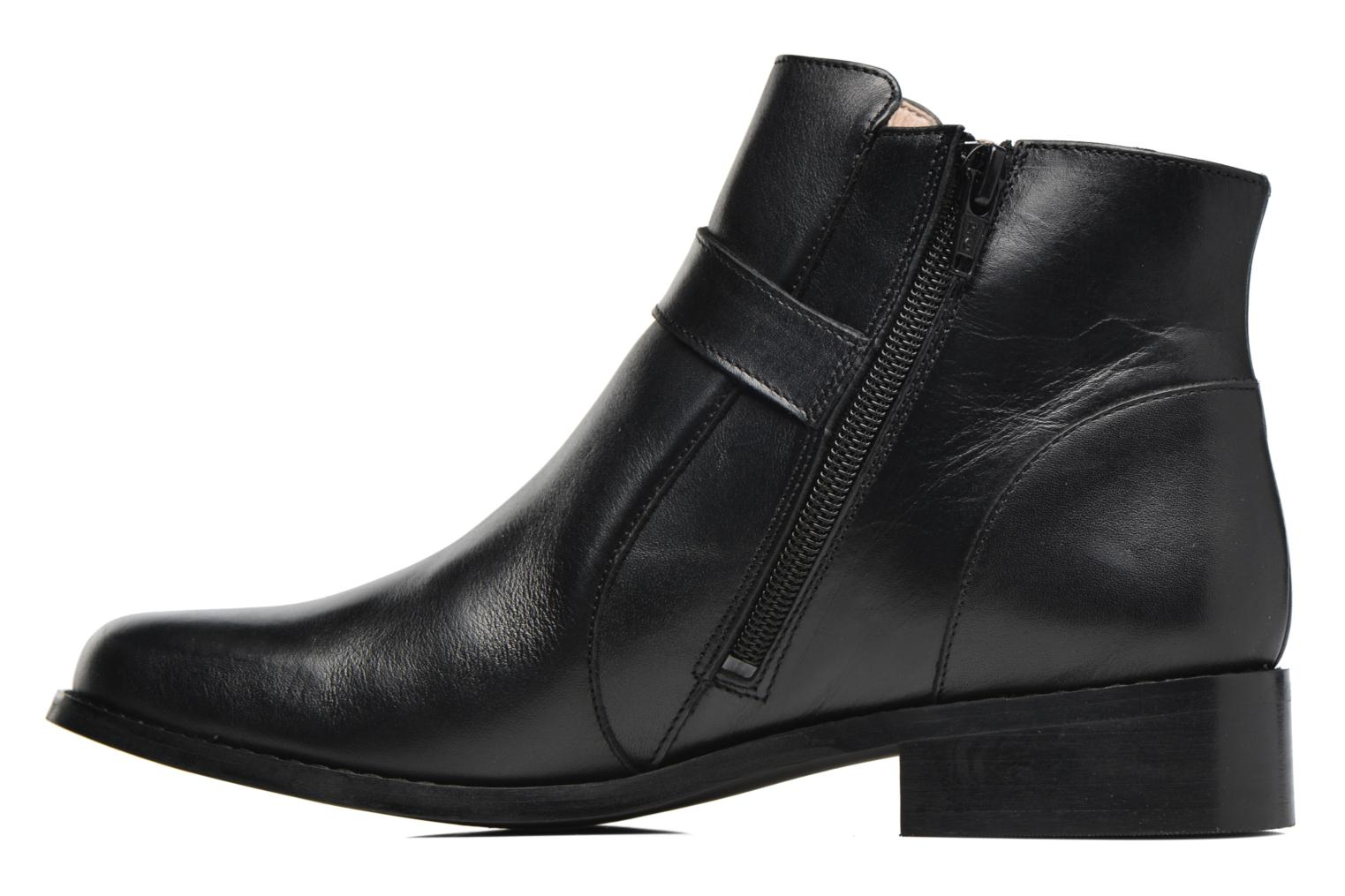 Ankle boots Mellow Yellow Post Black front view