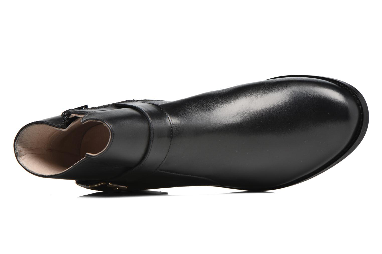 Boots en enkellaarsjes Mellow Yellow Post Zwart links