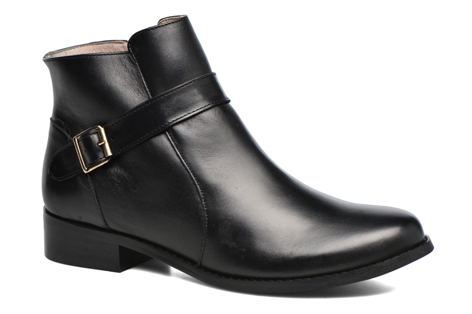 Ankle boots Mellow Yellow Post Black detailed view/ Pair view