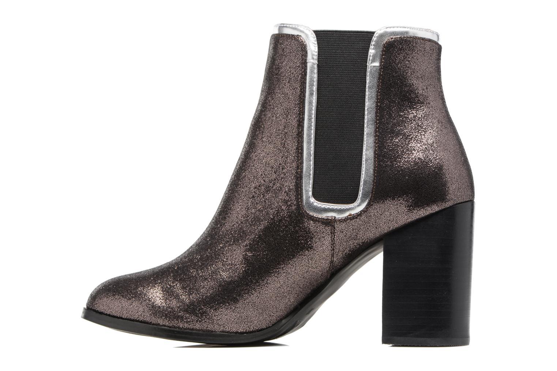 Stiefeletten & Boots Mellow Yellow Calounette silber ansicht von vorne