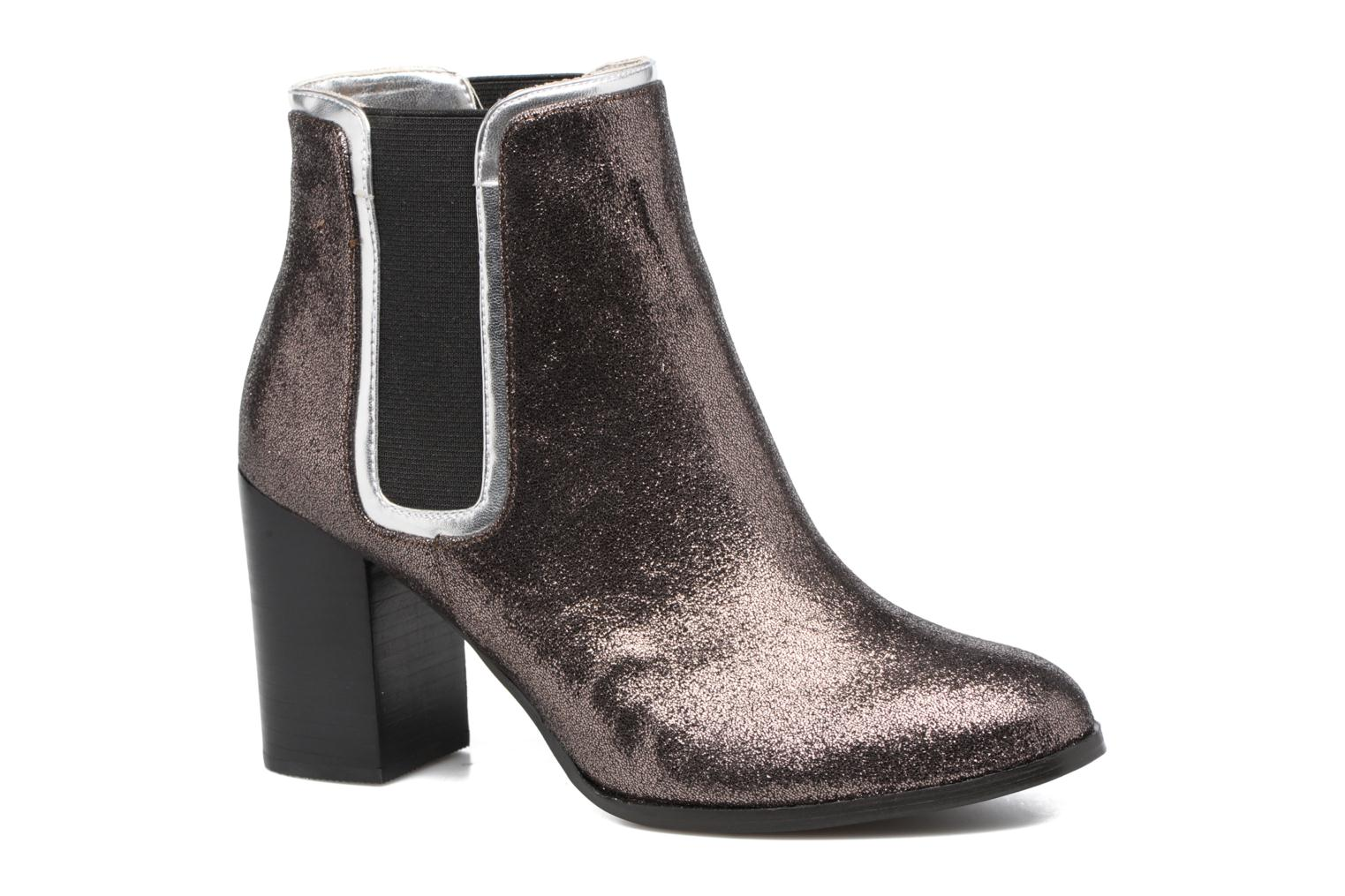 Ankle boots Mellow Yellow Calounette Silver detailed view/ Pair view