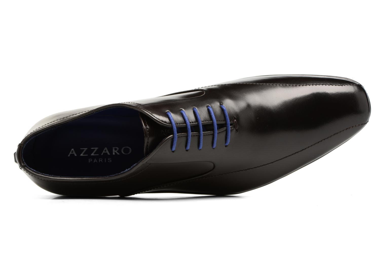 Chaussures à lacets Azzaro GEORGIL Marron vue gauche