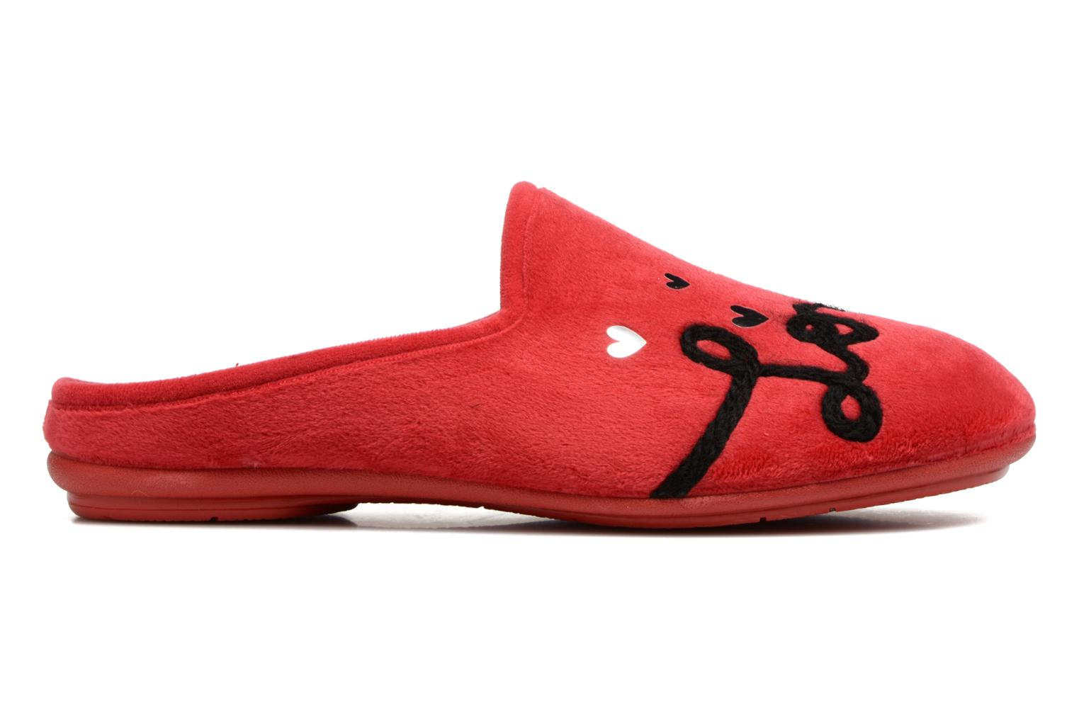 Chaussons Rondinaud Guisane Rouge vue droite
