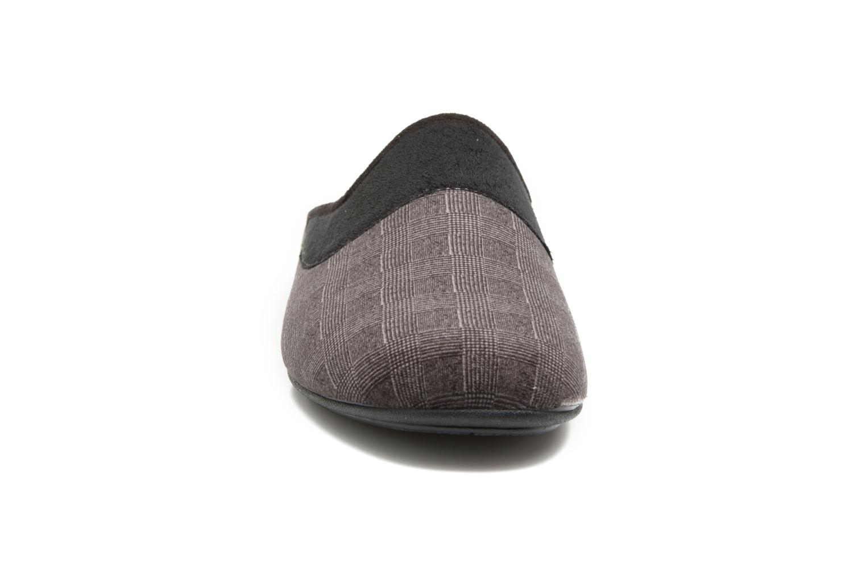 Hausschuhe Rondinaud Semois grau schuhe getragen