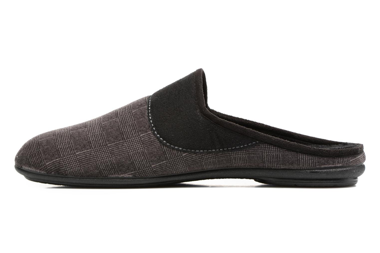 Slippers Rondinaud Semois Grey front view