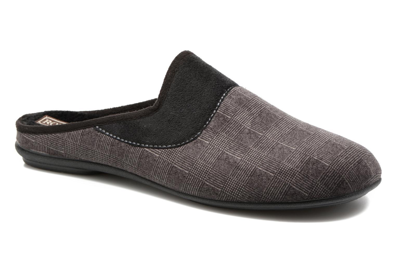 Pantoffels Rondinaud Semois Grijs detail