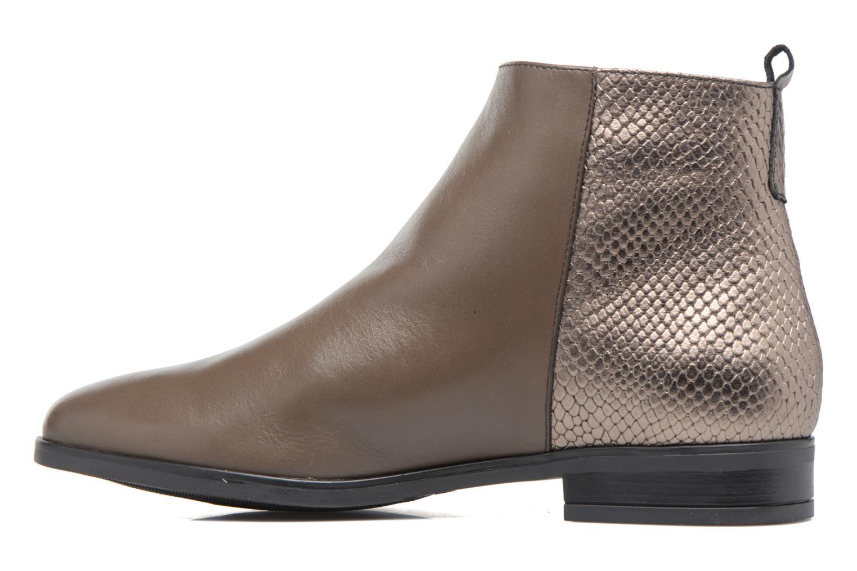 Boots en enkellaarsjes Georgia Rose Olimpe Bruin voorkant