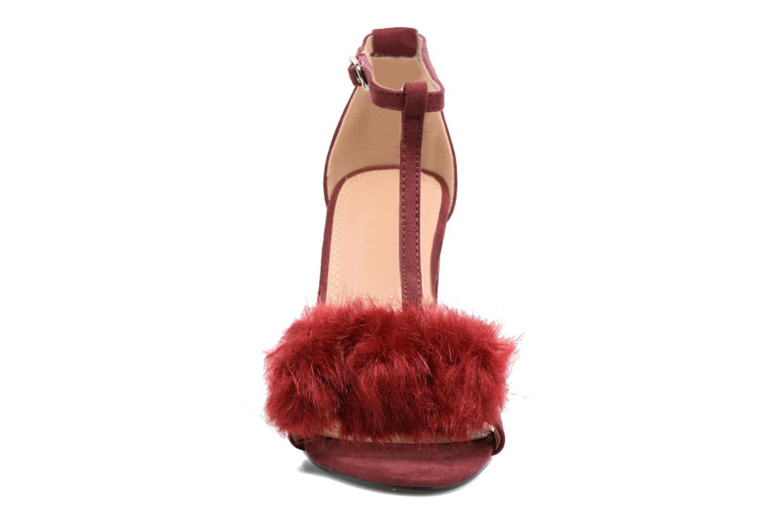 Escarpins Buffalo Georgia Bordeaux vue portées chaussures