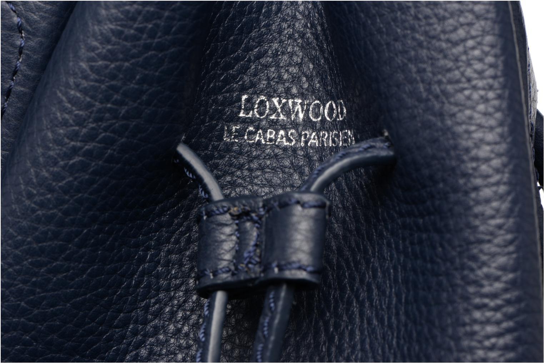 Sacs à main Loxwood Sac Seau Bleu vue gauche