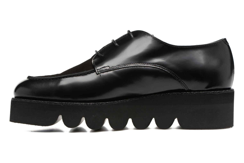 Chaussures à lacets Anaki Stacey Noir vue face