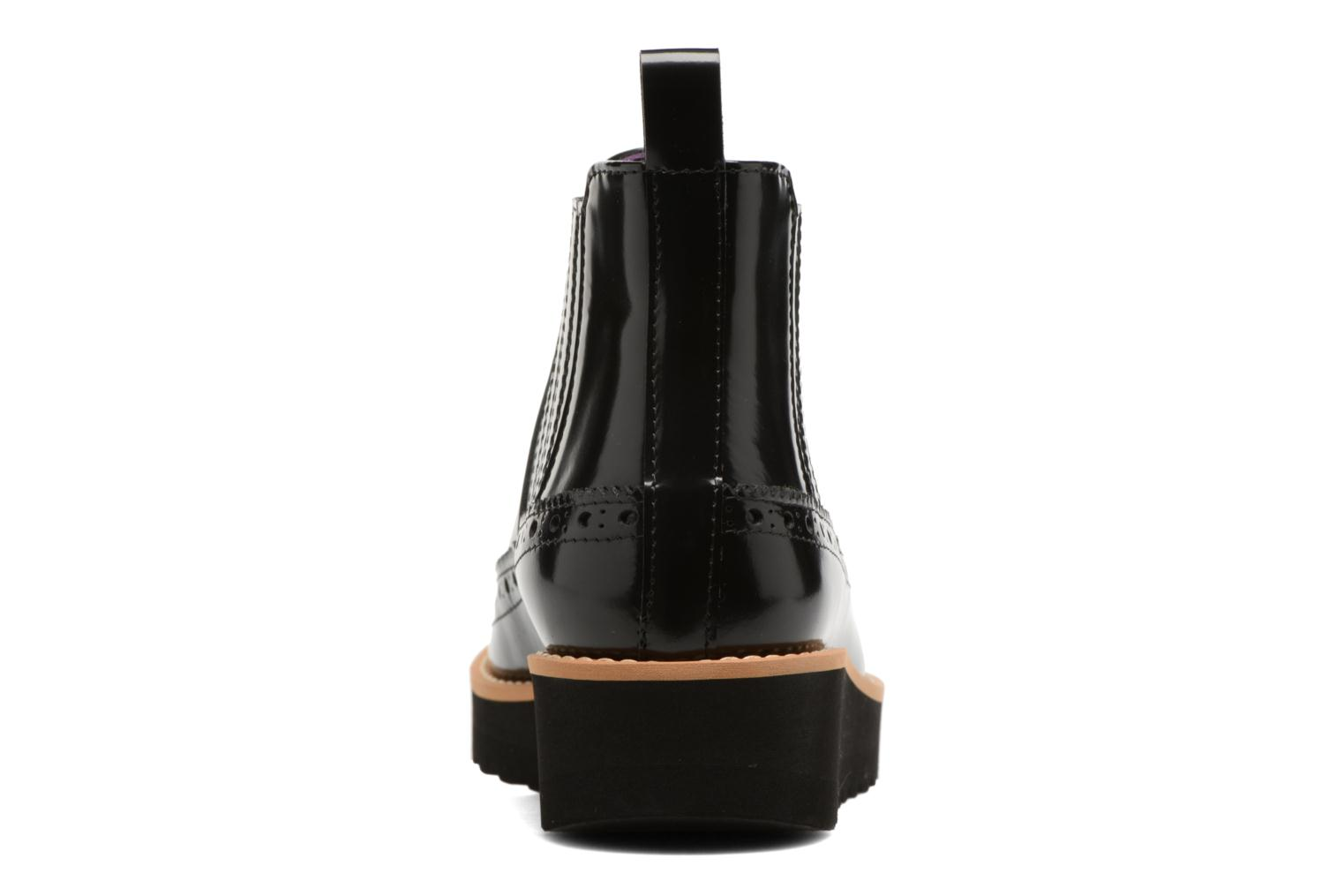 Ankle boots Anaki Connor Black view from the right