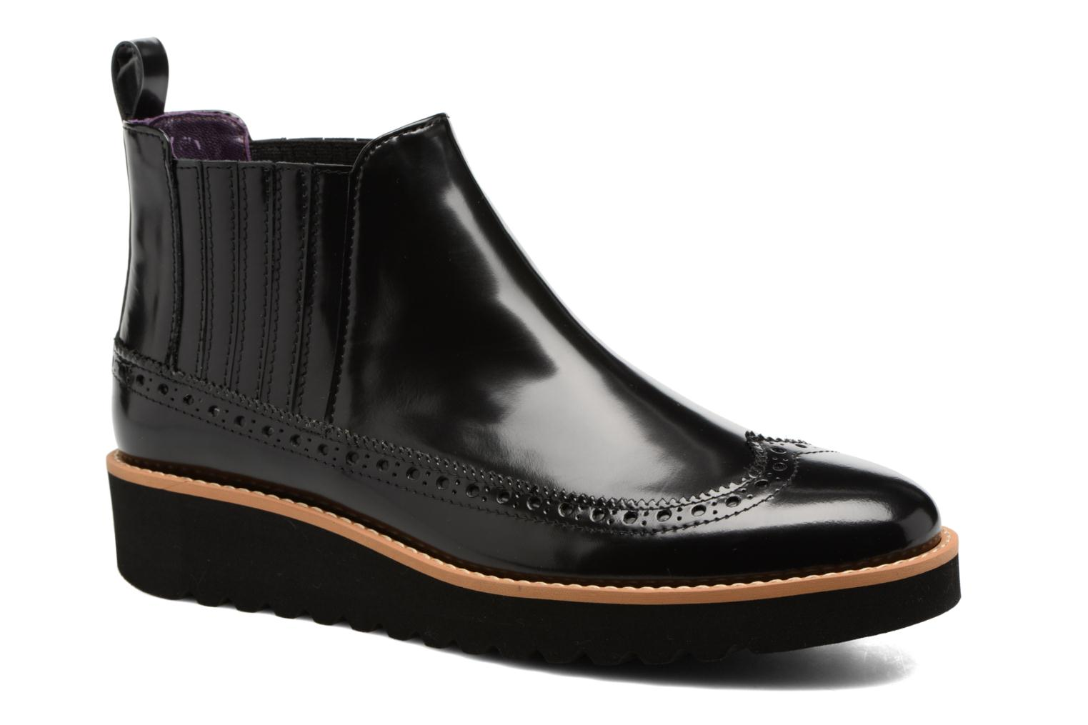 Ankle boots Anaki Connor Black detailed view/ Pair view