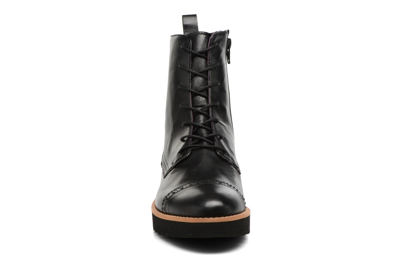 Bottines et boots Anaki Johnny Noir vue portées chaussures