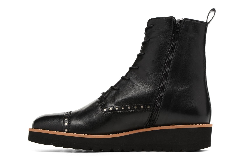 Bottines et boots Anaki Johnny Noir vue face