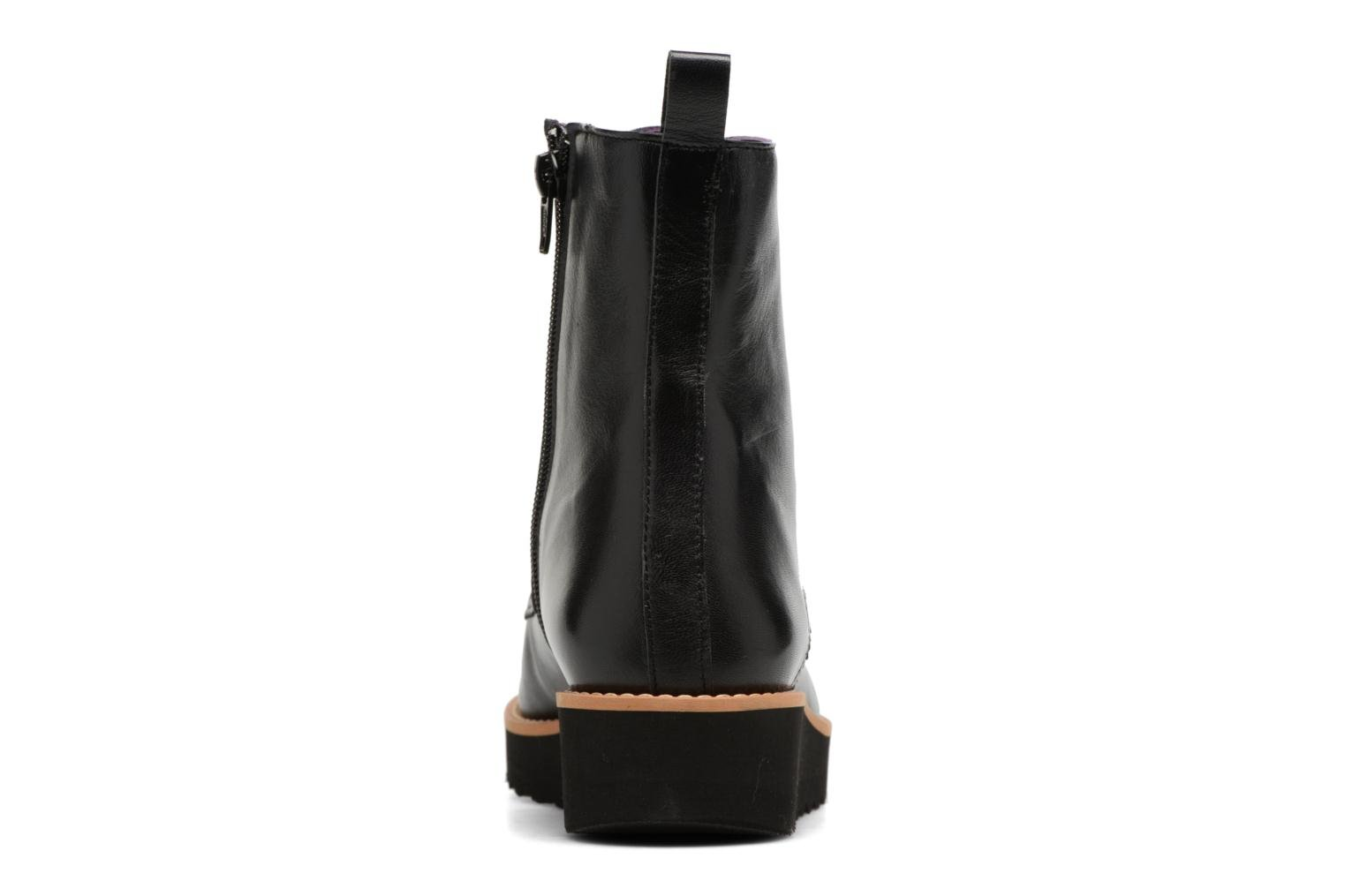 Ankle boots Anaki Johnny Black view from the right