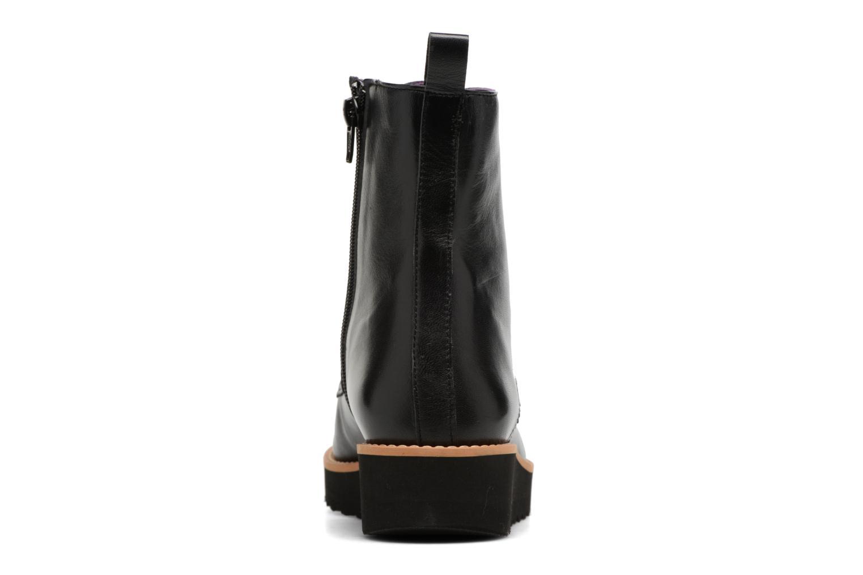 Bottines et boots Anaki Johnny Noir vue droite