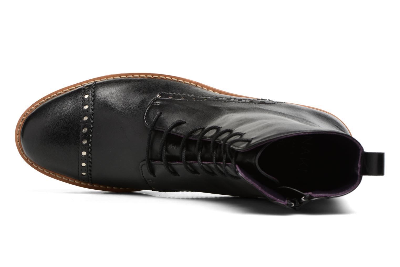 Bottines et boots Anaki Johnny Noir vue gauche