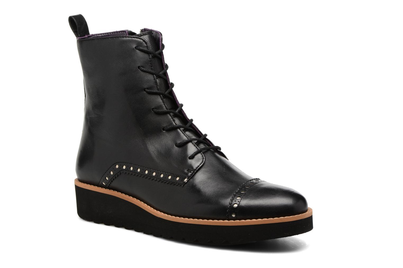 Bottines et boots Anaki Johnny Noir vue détail/paire