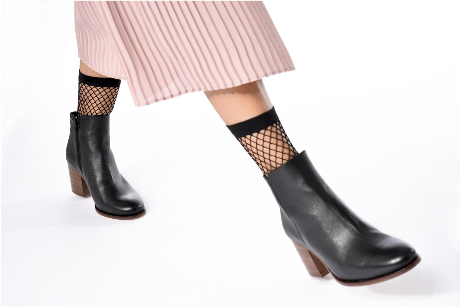 Ankle boots Anaki Jada Black view from underneath / model view