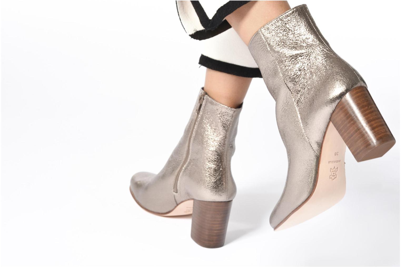 Bottines et boots Anaki Lux Or et bronze vue bas / vue portée sac
