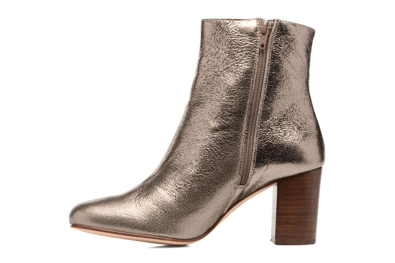 Bottines et boots Anaki Lux Or et bronze vue face
